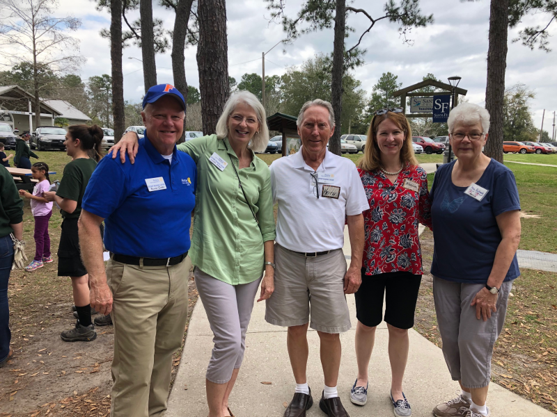 Rotary Club of Gainesville Reading Safari at Santa Fe College Zoo